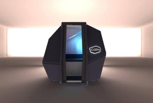 CalmSpace – high-tech kapsula za borbu protiv stresa