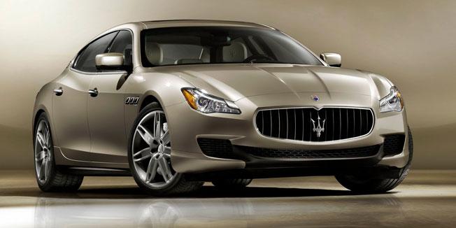 Maserati Quattroporte Limuzina s Ferrarijevim motorom