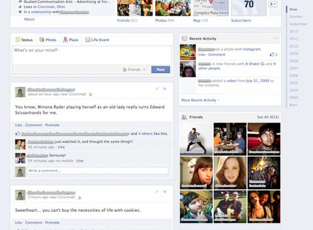 Nove promjene na Facebooku: Testira se novi izgled Timelinea