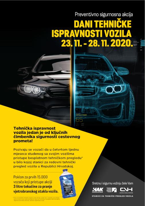 Dani tehničke ispravnosti vozila 2020.