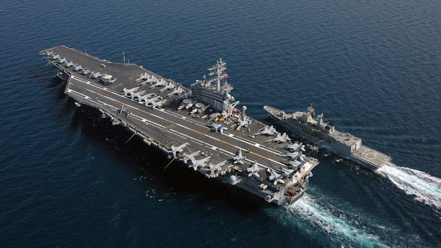 U Južno kinesko more ušli američki nosač zrakoplova, razarač i krstarica