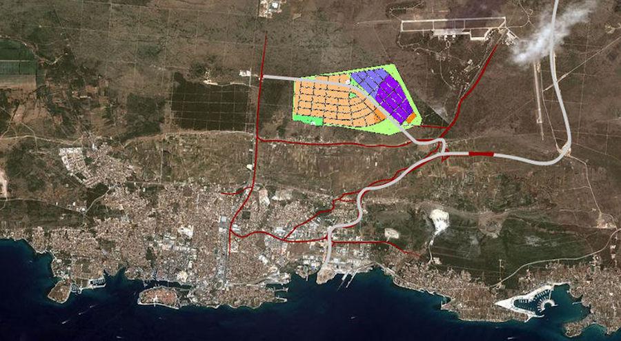 PREMA PROJEKTU D&Z-a Grad Zadar ulaže 5 milijuna kuna u izgradnju 314 metara četverotračne ceste