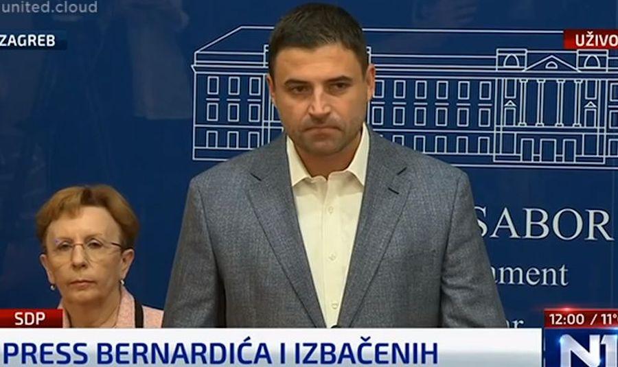 Izbačeni SDP-ovci osnovali Klub socijaldemokrata: 'Od SDP-a je ostala samo partija, u najgorem smislu riječi'
